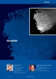 Auszug Leistungskatalog 2013 - Qualität - Quality Austria
