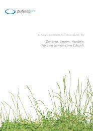 Nachhaltigkeitsbericht der Stadtwerke Brixen AG ... - Quality Austria