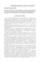 3. Pubblicati in Gazzetta Ufficiale i decreti ministeriali 30 dicembre ...