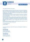 Verkaufsprogramm Juni 2008 - w-reich.eu - Page 2
