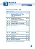 Verkaufsprogramm Juni 2008 - w-reich.eu - Page 3