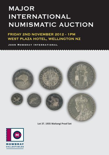 major international numismatic auction - Mowbray Collectables