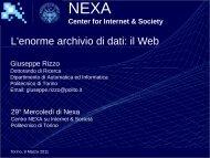 SAP Solution Competence Center - Nexa Center for Internet & Society