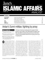 Anbar's Sunni militias: fighting by proxy - Brian Glyn Williams