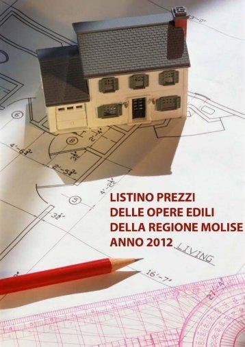 Listino prezzi delle opere edili della Regione Molise - anno 2012