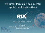 Veiksmes formula e-dokumentu apritei publiskajā sektorā - LIKTA
