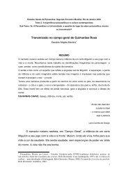 Transmissão no campo geral de Guimarães Rosa - Estados Gerais ...