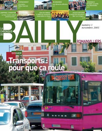 La Chronique de Bailly n°1 - Bailly-Romainvilliers