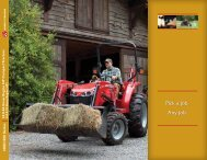 MF 1600/1500 Series Brochure - Massey Ferguson