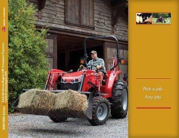 MF 1600/1500 Series Brochure - Massey Ferguson