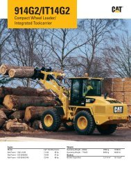 AEHQ6617-00 914G2/IT14G2 Compact Wheel Loader ... - Caterpillar