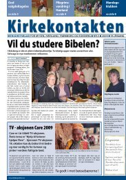Kirkekontakten nr 5 - Eidsberg - Mysen - Hærland - Den norske kirke