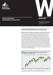 Invesco Perpetual Global Equity Income Fund