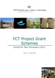 FCT Project Grant Schemes