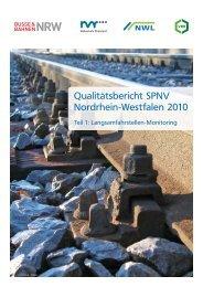 Qualitätsbericht 2010 - NWL