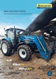 NEW HOLLAND T6OOO - Farming