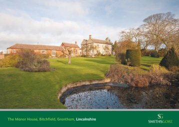 The Manor House, Bitchfield, Grantham, Lincolnshire - Farming