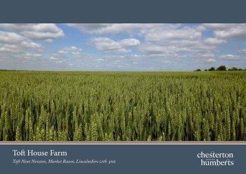 Toft House Farm - Farming