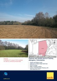 Pasture and Arable land at Tubney, Abingdon, Oxfordshire - Farming