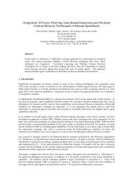 Integration Of Fuzzy Filtering, Case-Based Reasoning and ... - UdG
