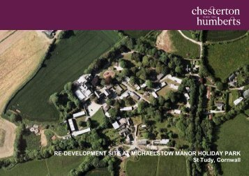 RE-DEVELOPMENT SITE AT MICHAELSTOW MANOR ... - Farming