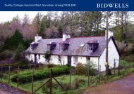 Quality Cottages East and West, Borrodale, Arisaig PH39 ... - Farming