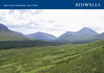 Glen Forsa Woodlands, Isle of Mull - Farming