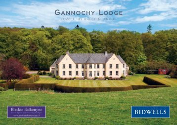 GANNOCHY LODGE - Farming