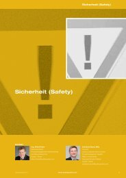 Auszug Leistungskatalog 2013 - Sicherheit (Safety) - Quality Austria