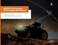 AGCO's Precision Technology Solutions - Agco Direct