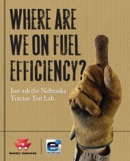 Just ask the Nebraska Tractor Test Lab. - Agco Direct
