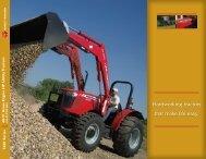 Hardworking tractors that make life easy. - Massey Ferguson