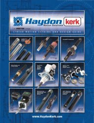 HaydonKerk Stepper Motor Linear Actuators Section 2 270812.pdf