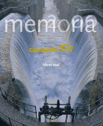 Informe anual - Caja España