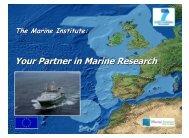 Marine Institute - Seventh EU Framework Programme Ireland