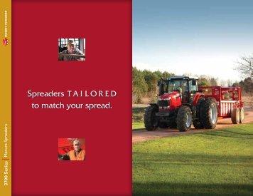 MF 3700 Series Manure Spreaders Brochure - Hesston.com