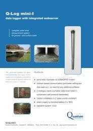 Q-Log mini-I - Quantum Hydrometrie GmbH