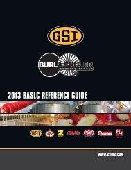 2013 BASLC REFERENCE GUIDE - GSI Group, LLC