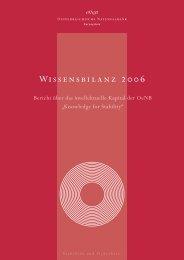 1. Wissensziele und Wissensbilanz-Modell - Oesterreichische ...
