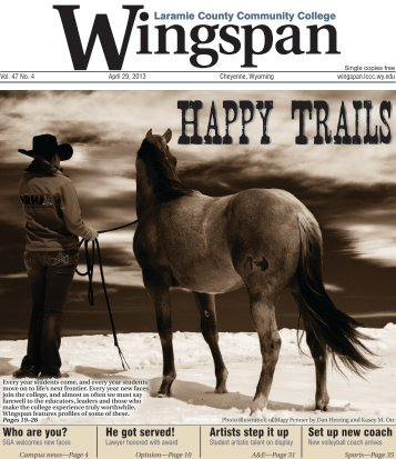 PDF version of the May 2013 print issue of Wingspan (Vol. 47, No. 4)
