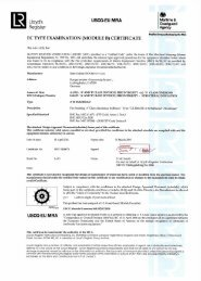 Page 1 EC TYPE EXAMINATION (MODULE E) CERTIFICATE Nr ...