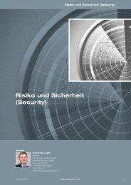 Risiko und Sicherheit (Security) - Quality Austria