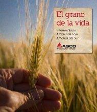 El grano de la vida - Agco
