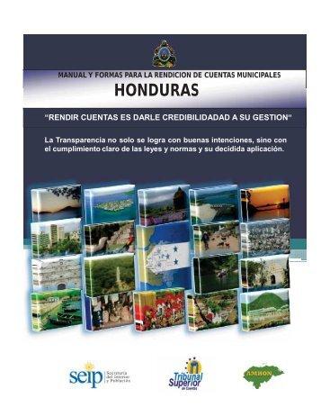 Manual y Formas para la Rendición de Cuentas Municipales