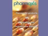 February 2006 Investor Presentation - Pharmaxis