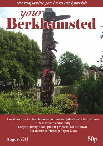 August 2011 issue of the parish magazine, Your Berkhamsted