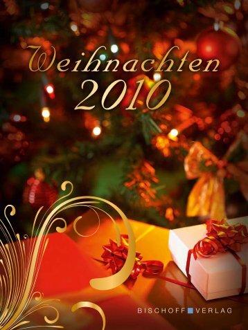 Weihnachtsprospekt 2010 - Bischoff Verlag