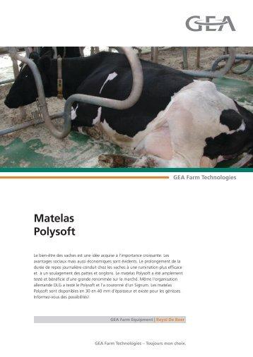 Matelas Polysoft - GEA Farm Technologies