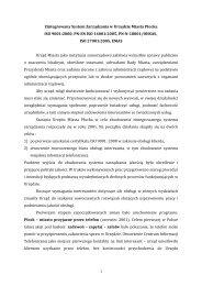 Zintegrowany System Zarządzania w Urzędzie Miasta Płocka