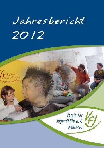 Jahresbericht 2012 - Verein für Jugendhilfe eV